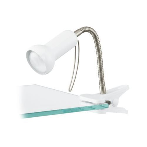 Eglo Lampa na klip fabio biały, 81262
