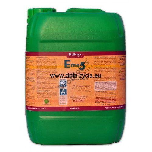 Ema5 10 litrów - to specjalnie przygotowana kompozycja mikroorganizmów na bazie - ProBiotics, 4EB8-28239