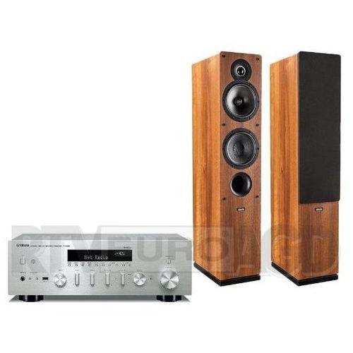 Yamaha musiccast r-n602 (srebrny), indiana line tesi 561 (orzech)