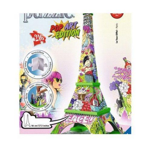216 ELEMENTÓW 3D Wieża Eiffla Pop Art (4005556125982)