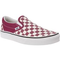 Vans CLASSIC SLIP ON U7A CHECKERBOARD DRY ROSE WHITE - Buty Sneakersy (0192360583160)