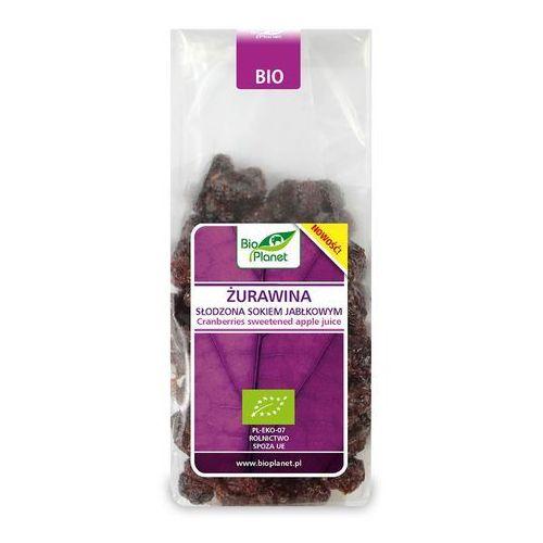 Bio planet - seria fioletowa (owoce suszone) Żurawina słodzona sokiem jabłkowym 100 g - bio planet