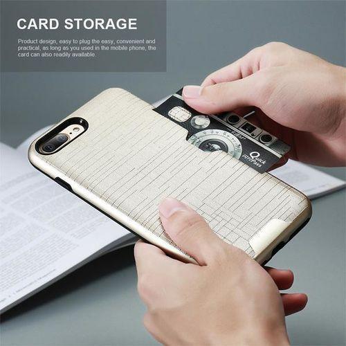 Etui 360 Pro z miejscem na kartę kredytową dla iPhone X - Czarne - Czarny \ iPhone X, kolor czarny