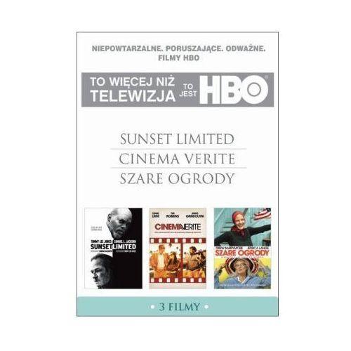 To jest hbo. pakiet 3 filmów (sunset limited, cinema verite, szare ogrody) (3 dvd)  7321910323809 wyprodukowany przez Galapagos films