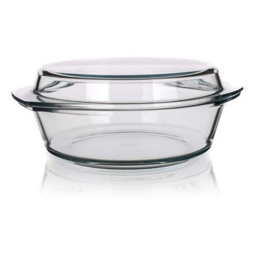 4-home Simax naczynie szklane, okrągłe z pokrywką 3,7 l