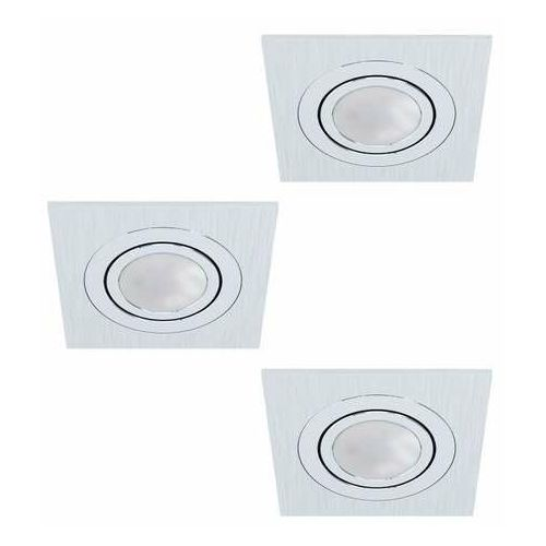 Eglo Areitio 98637 zestaw reflektorów 3x5W GU10 srebrny (9002759986377)