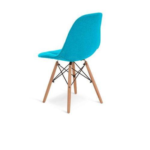 """Krzesło """"JAZZ"""" turkusowe"""