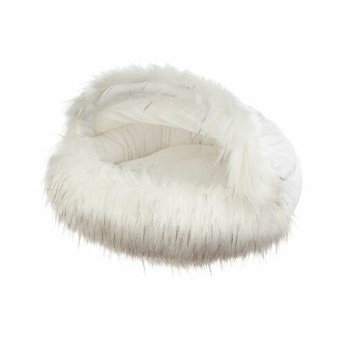 Bigcats Poduszka slipper large - white fox