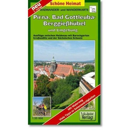 Doktor Barthel Karte Pirna, Bad Gottleuba-Berggießhübel und Umgebung