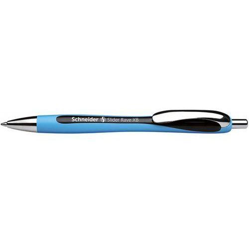 Schneider Długopis automatyczny slider rave, xb, czarny
