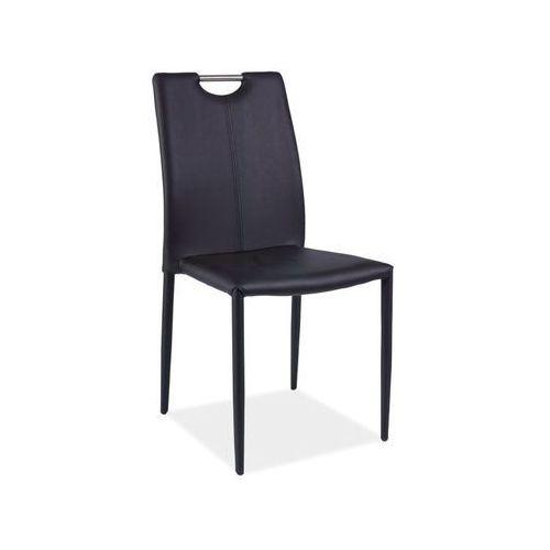 Signal Nowoczesne krzesło h-322 black