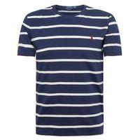 Polo ralph lauren koszulka 'sscncmslm7-short sleeve-t-shirt' granatowy / biały