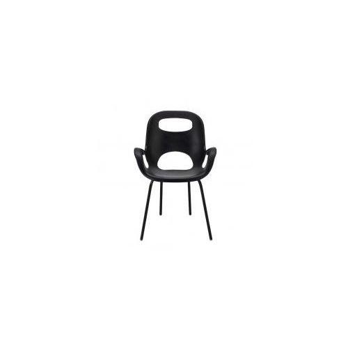 Krzesło OH Umbra czarne, kolor czarny