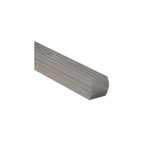 Werth-holz Kantówka drewniana 7x7x180 cm szara parma