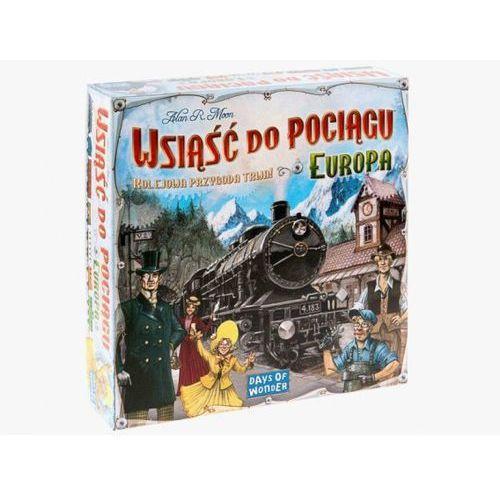 Wsiąść do pociągu: europa marki Rebel.pl