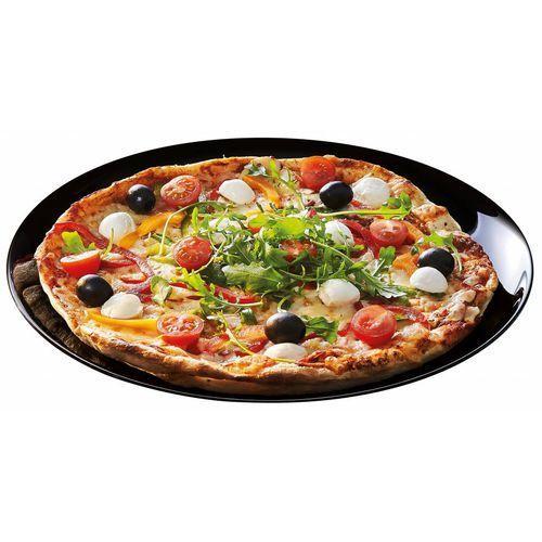 Talerz do pizzy czarny friend's time | śr. 321x(h)24 mm marki Arcoroc
