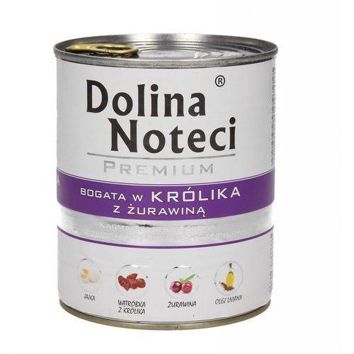 DOLINA NOTECI PREMIUM BOGATA W KRÓLIKA Z ŻURAWINĄ 800 g, PDOL049_PAK12