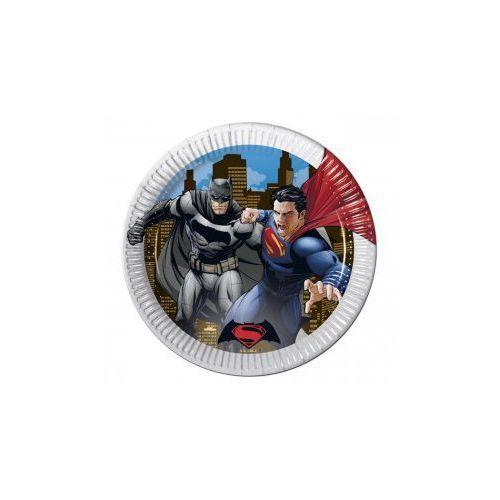 Talerzyki papierowe Batman vs Superman, 23 cm, 8 szt. (5201184867198)