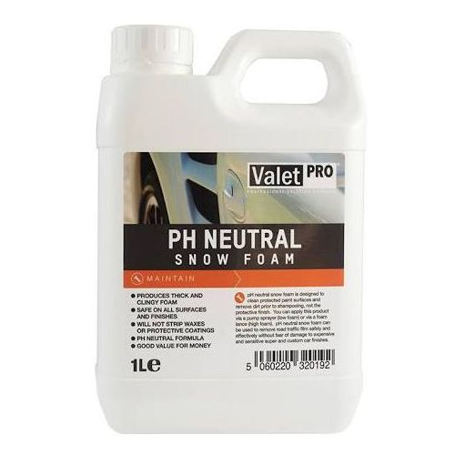 Valet pro ph neutral snow foam 1l marki Valetpro