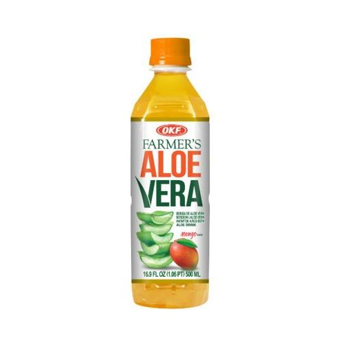 OKF 500ml Farmers Aloe Vera Napój aloesowy o smaku mango