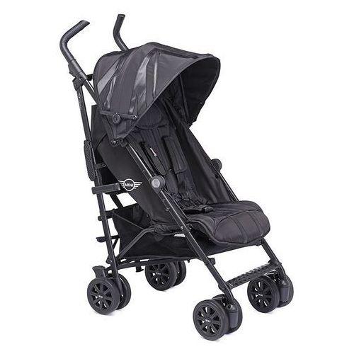 Wózek spacerowy z osłonką przeciwdeszczową Buggy+ Mini by Easywalker - LXRY Black EMB10033 (8719033993037)