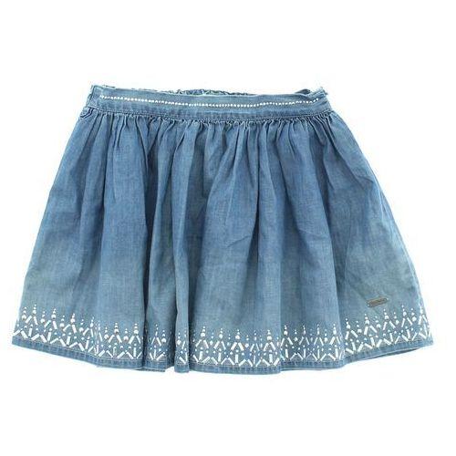 Pepe jeans  spódnica dziecięca niebieski 8 lat