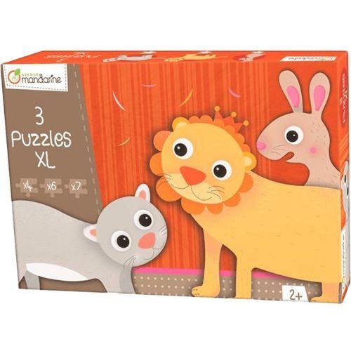 puzzle – lew i przyjaciele wyprodukowany przez Avenue mandarine