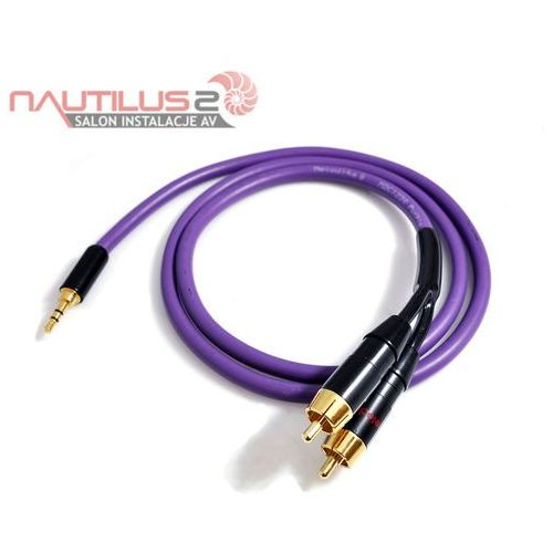 Melodika MDMJ2R100 Kabel jack stereo 3,5mm - 2xRCA 10m - 5 lat gwarancji! - Dostawa 0zł