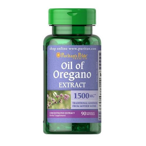 Puritan's Pride Olejek z Oregano 1500 mg 90 kaps. - produkt farmaceutyczny
