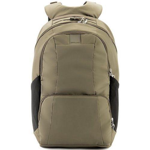 """Pacsafe metrosafe ls450 plecak miejski na laptop 15"""" / beżowy - earth khaki"""