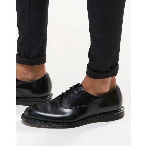 henley oxford shoes in black - black marki Dr martens