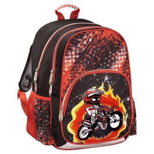 Hama plecak szkolny dla dzieci / Motorbike - Motorbike (4047443347565)