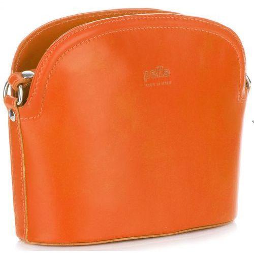 a9f1d55ba51a2 Włoskie Torebki Skórzane Listonoszki fir... Producent Genuine Leather   Kolor pomarańczowy ...