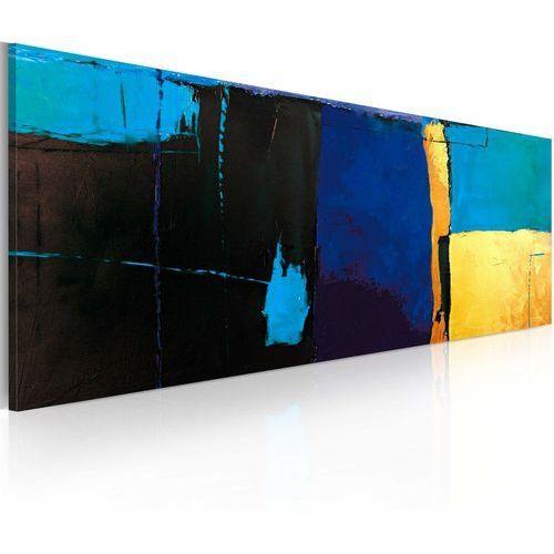 Obraz malowany - fascynacja błękitem marki Artgeist