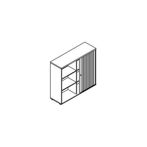 Szafa żaluzjowa sk3z06, wym.: 120x38,5x112,9 cm marki Svenbox