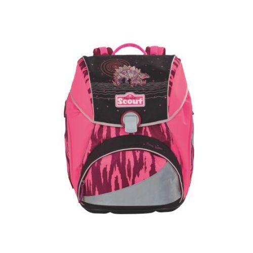 SCOUT Plecak Basic Alpha - Pink Dino, kolor różowy