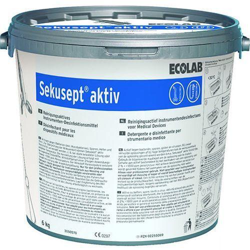 Środek do dezynfekcji instrumentów medycznych Sekusept Aktiv Ecolab 6 kg, 3050580