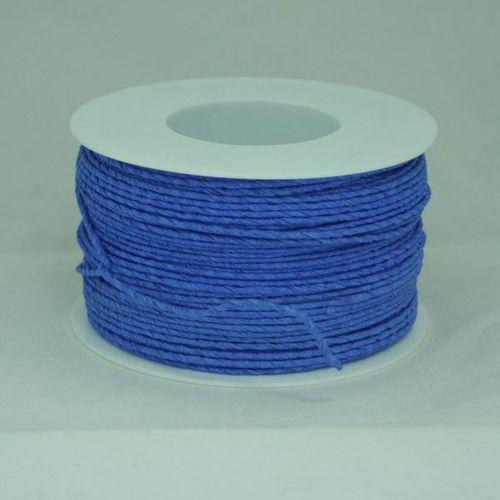 Creativehobby Ozdobny sznurek papierowy z drutem - niebieski - nie