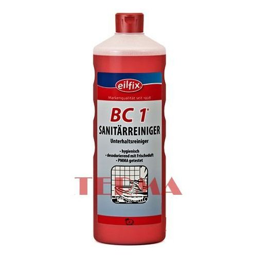 EILFIX BC-1 czyszczenie toalet 1L Sanitärreiniger (kwaśny)