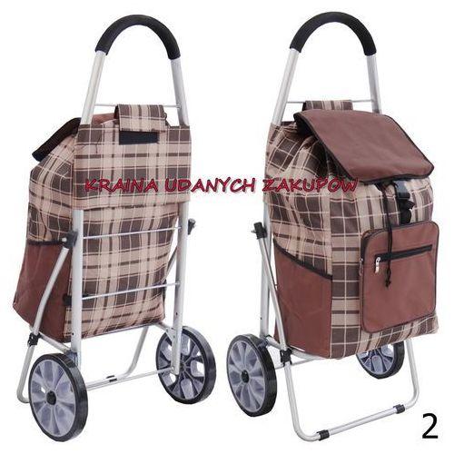 Solidny Wózek na Zakupy XL kółkach z łożyskami