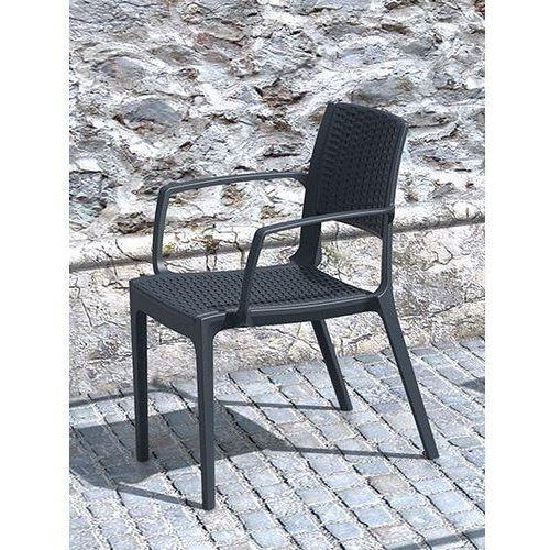 Siesta rattan Krzesło ogrodowe capri