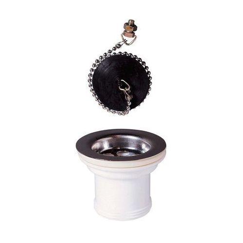 Korek spustowy do zlewozmywaka i umywalki ZLEWOZMYWAKOWY 70 mm WIRQUIN (3375536025382)
