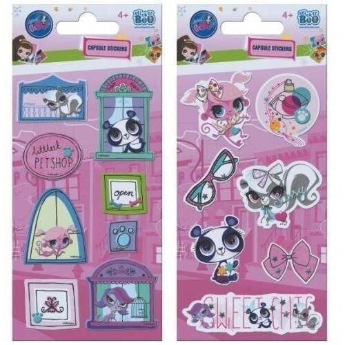 Naklejki sticker boo capsule littlest pet shop (5901350225226)
