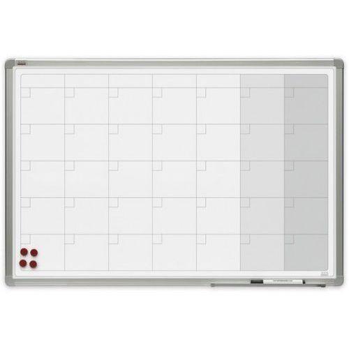 2x3 Planer miesięczny magnetyczny officeboard ceramiczny 90x60cm