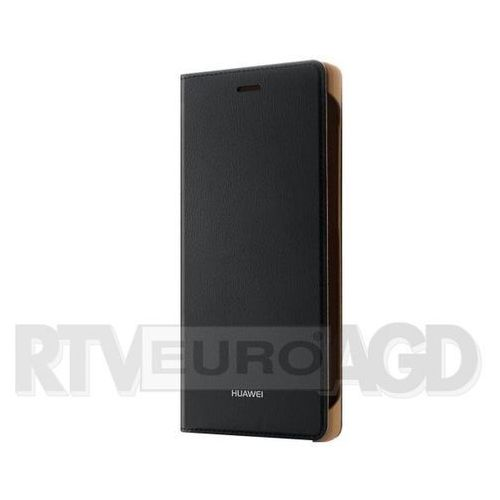 Huawei P9 Lite 2017 Flip Cover 51991958 (czarny) - produkt w magazynie - szybka wysyłka!, kolor czarny