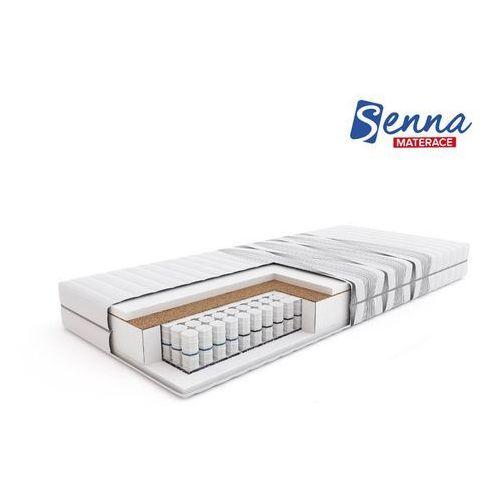 cube - materac kieszeniowy, sprężynowy, rozmiar - 180x200 wyprzedaż, wysyłka gratis marki Senna