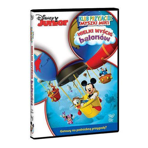 Galapagos Klub przyjaciół myszki miki. wielki wyścig balonów [dvd] (7321917500470)