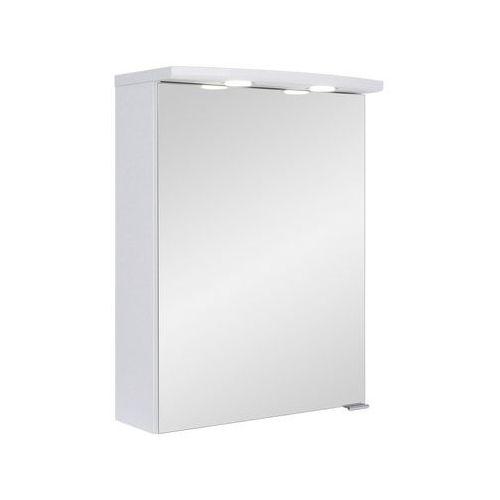 Astor szafka z lustrem bruno 50 cm biała