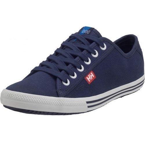 Helly Hansen Damskie tenisówki Oslofjord Canvas, granatowy/biały 37, kolor niebieski
