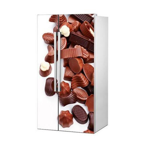 Stikero Mata magnetyczna na lodówkę side by side - pralinki czekoladowe 4973